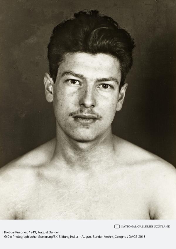 August Sander, Political Prisoner [Marcel Ancelin], 1943 (1943)