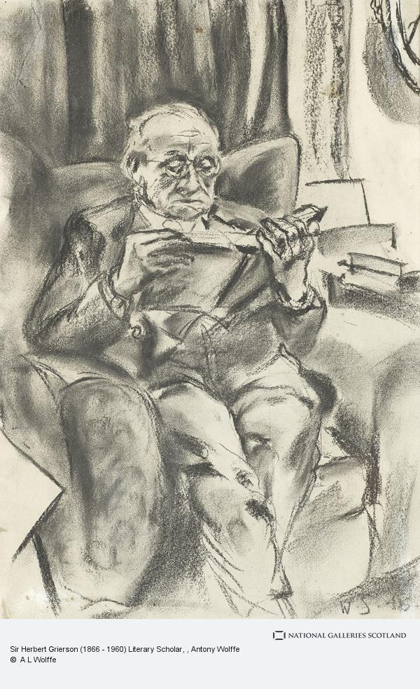 Antony Wolffe, Sir Herbert Grierson (1866 - 1960) Literary Scholar