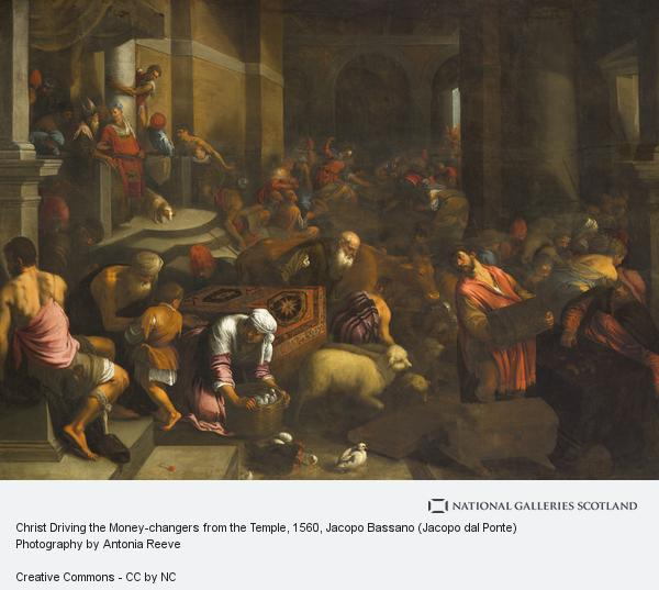 Jacopo Bassano (Jacopo dal Ponte), Christ Driving the Money-changers from the Temple (About 1560 - 1590)