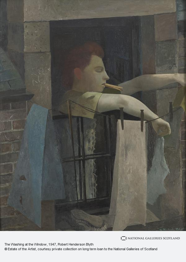 Robert Henderson Blyth, The Washing at the Window