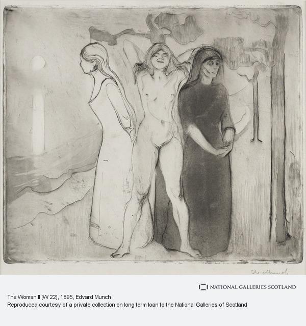 Edvard Munch, The Woman II [W 22]