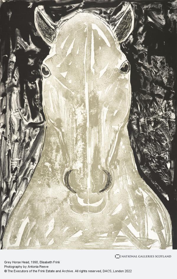 Elisabeth Frink, Grey Horse Head