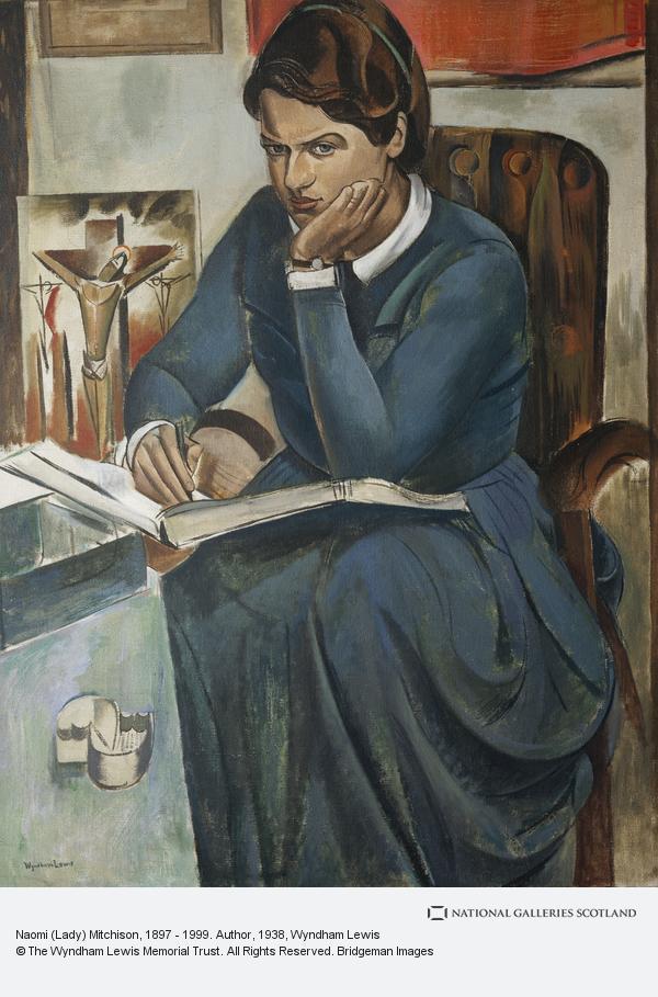Percy Wyndham Lewis, (Lady) Naomi Mitchison, 1897 - 1999. Author (1938)