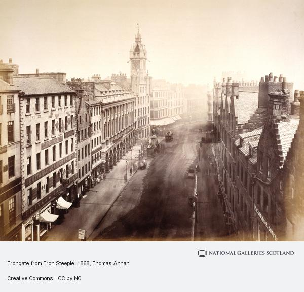 Thomas Annan, Trongate from Tron Steeple (1868 - 1871)