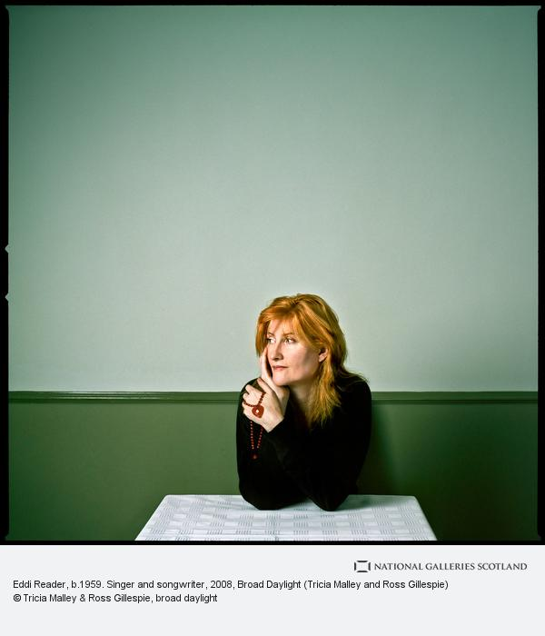 Tricia Malley and Ross Gillespie, Eddi Reader, b.1959. Singer and songwriter (26 September 2008)