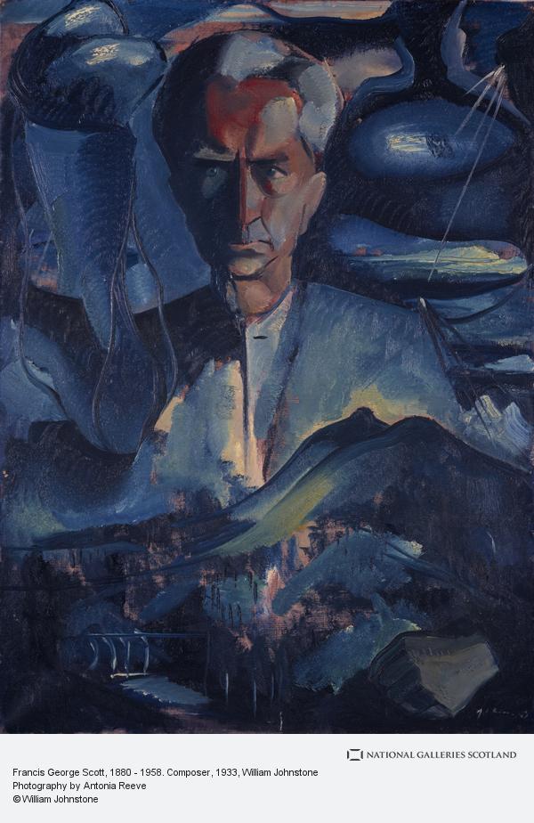 William Johnstone, Francis George Scott, 1880 - 1958. Composer
