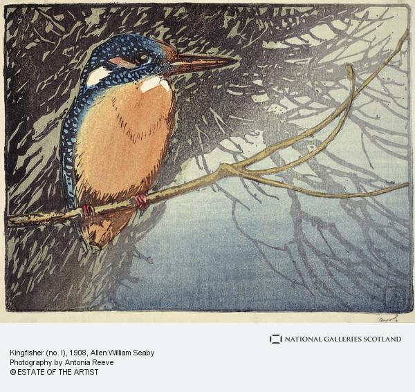 Allen William Seaby, Kingfisher (no. I) (About 1908)