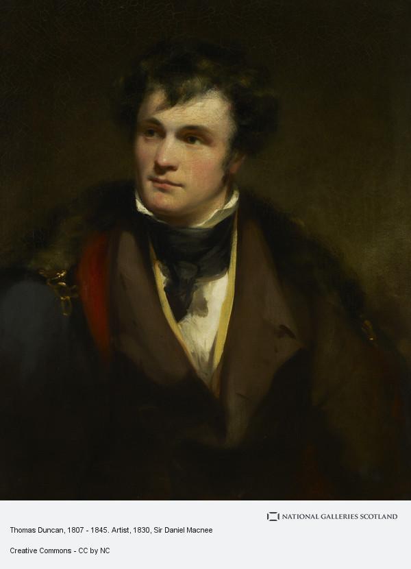 Sir Daniel Macnee, Thomas Duncan, 1807 - 1845. Artist