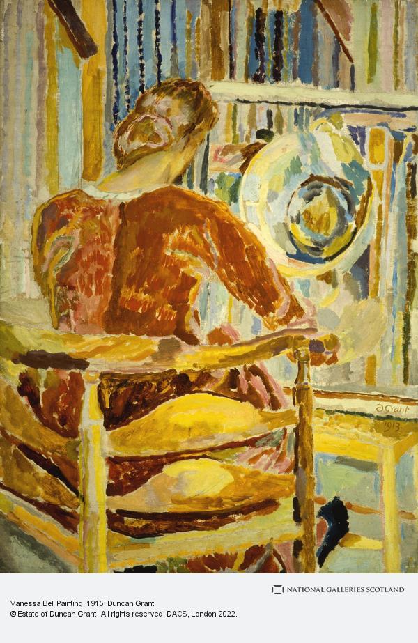 Duncan Grant, Vanessa Bell Painting