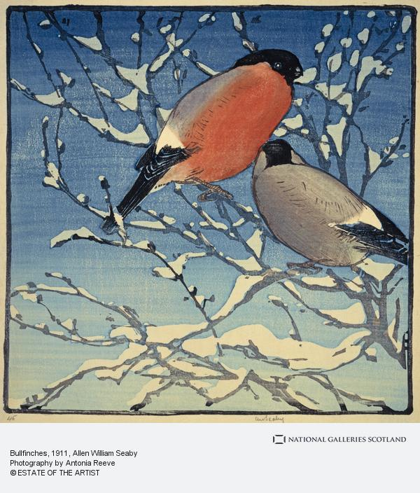 Allen William Seaby, Bullfinches (About 1911)