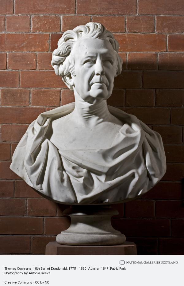 Patric Park, Thomas Cochrane, 10th Earl of Dundonald, 1775 - 1860. Admiral