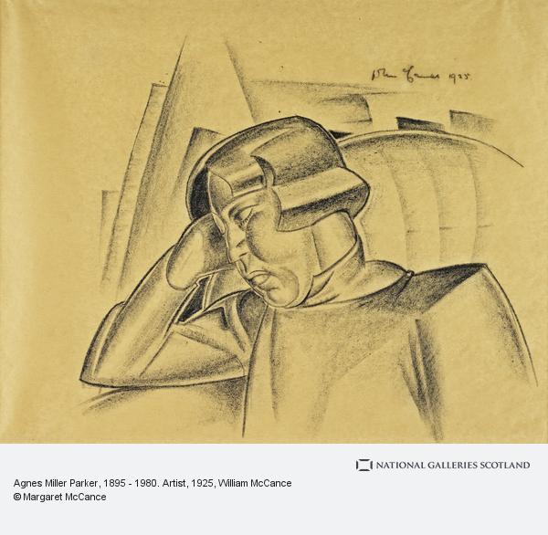 William McCance, Agnes Miller Parker, 1895 - 1980. Artist