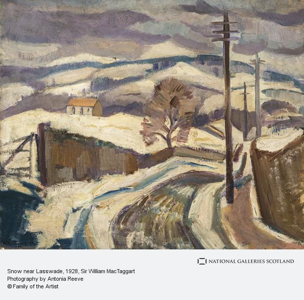 Sir William MacTaggart, Snow near Lasswade (About 1928)