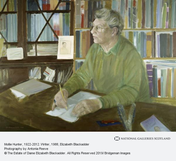 Elizabeth Blackadder, Mollie Hunter, 1922-2012. Writer (1988)