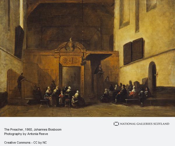 Johannes Bosboom, The Preacher