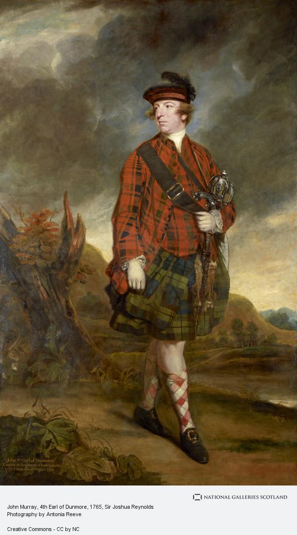 Sir Joshua Reynolds, John Murray, 4th Earl of Dunmore