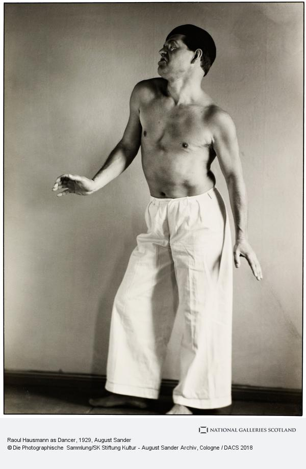 August Sander, Raoul Hausmann als Tänzer [Raoul Hausman as Dancer], 1929 (1929)