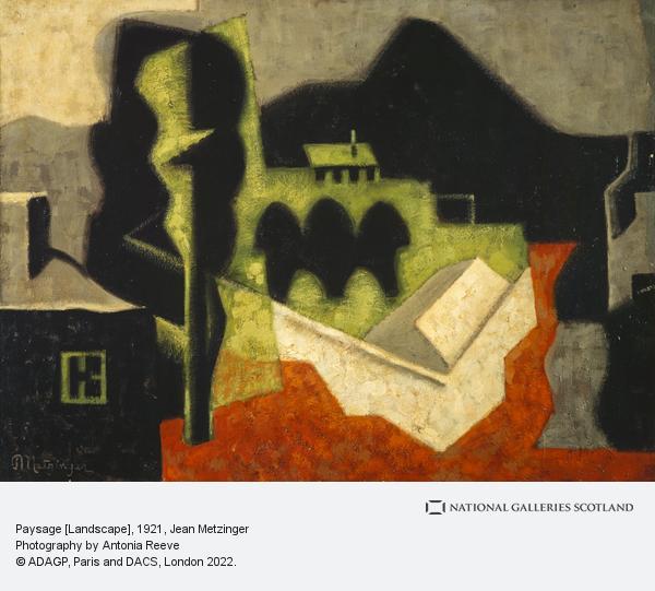 Jean Metzinger, Paysage [Landscape]