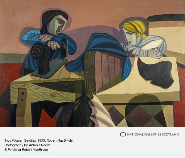 Robert MacBryde, Two Women Sewing