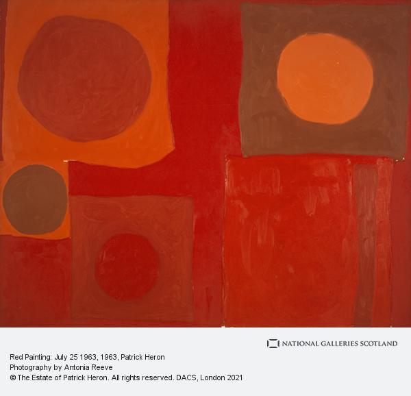 Patrick Heron, Red Painting: July 25 1963