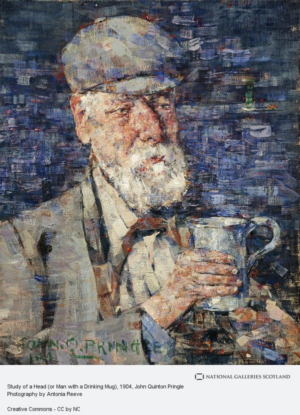 John Quinton Pringle, Study of a Head (or Man with a Drinking Mug)