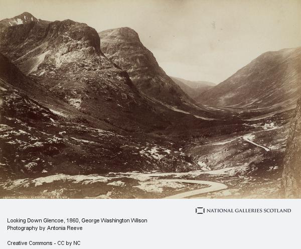 George Washington Wilson, Looking Down Glencoe (About 1860)