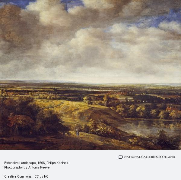 Philips Koninck, Extensive Landscape (1666)