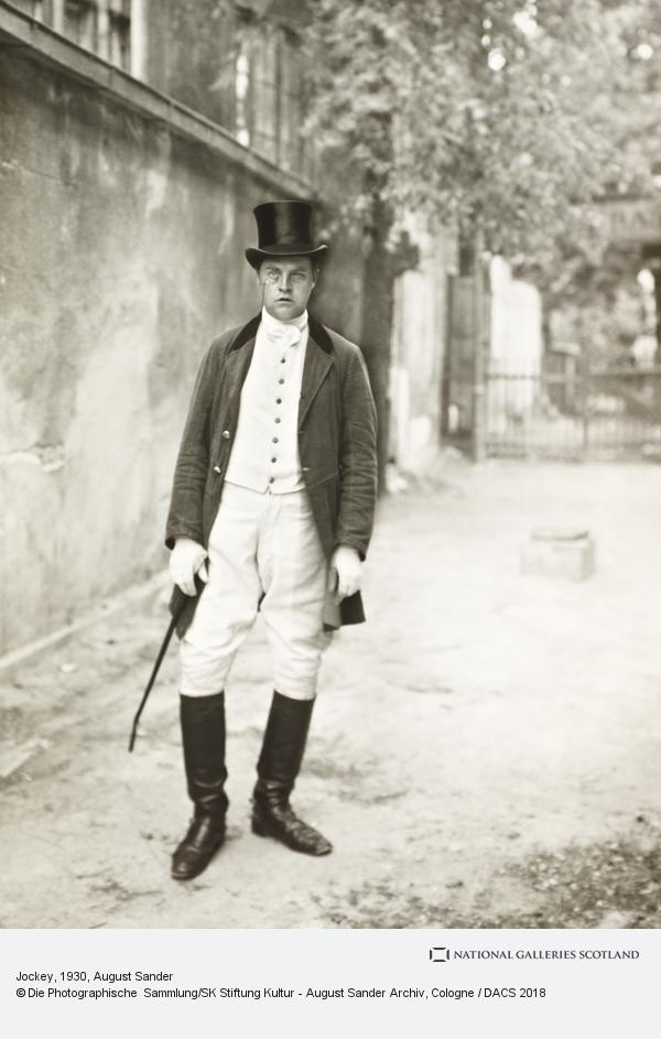 August Sander, Jockey, about 1930 (about 1930)
