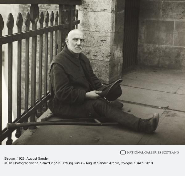 August Sander, Beggar, 1926 (1926)