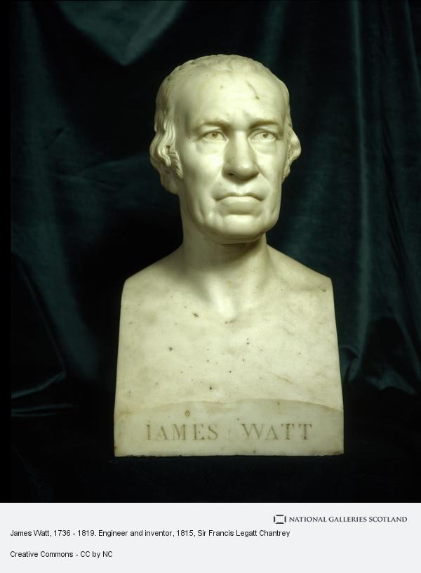 Sir Francis Legatt Chantrey, James Watt, 1736-1819. Engineer, inventor of the steam engine