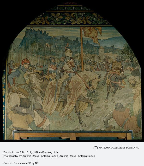 William Brassey Hole, Bannockburn A.D. 1314
