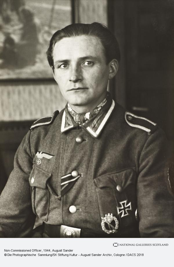 August Sander, Non-Commissioned Officer, about 1944 (about 1944)