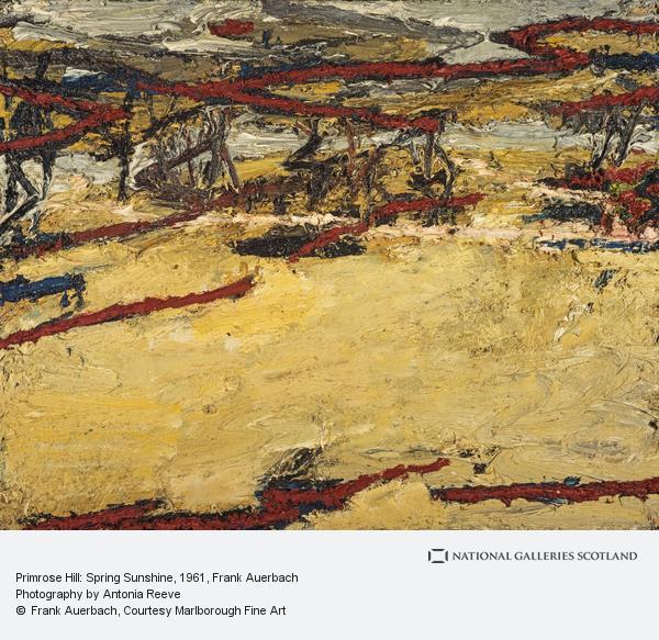 Frank Auerbach, Primrose Hill: Spring Sunshine