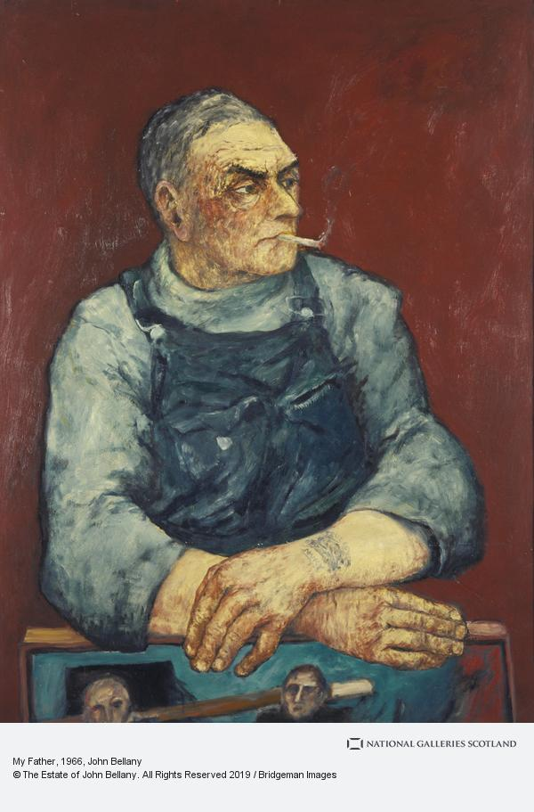 John Bellany, My Father (1966)