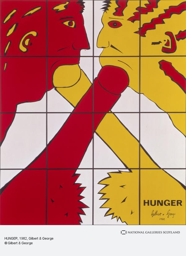 Gilbert & George, HUNGER (1982)