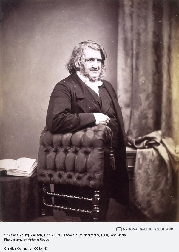 John Moffat, Sir James Young Simpson, 1811 - 1870. Discoverer of chloroform