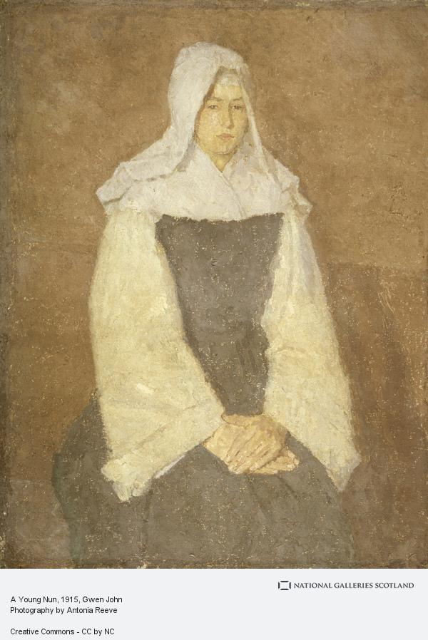 Gwen John, A Young Nun (About 1915 - 1920)