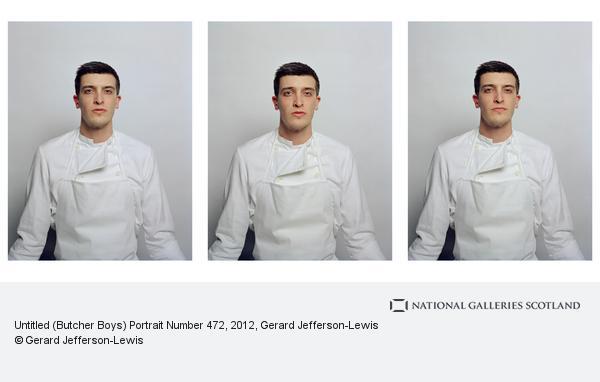 Gerard Jefferson-Lewis, Untitled (Butcher Boys) Portrait Number 472