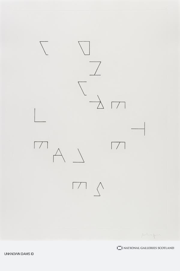 Martin Boyce, Untitled (Concrete Leaves)