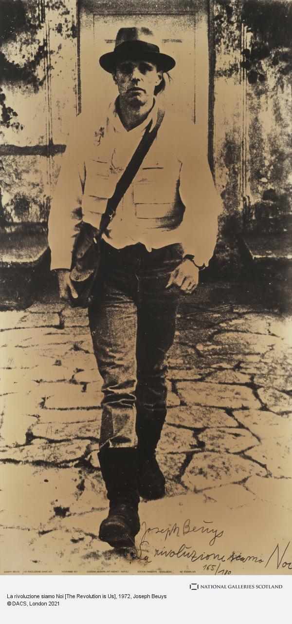 Joseph Beuys, La rivoluzione siamo Noi [The Revolution is Us]