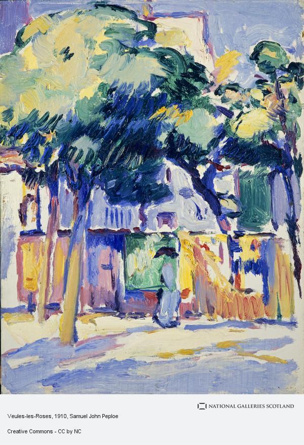 Samuel John Peploe, Veules-les-Roses (About 1910 - 1911)
