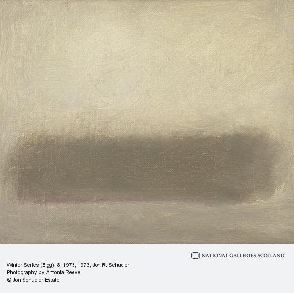 Jon R. Schueler, Winter Series (Eigg), 8