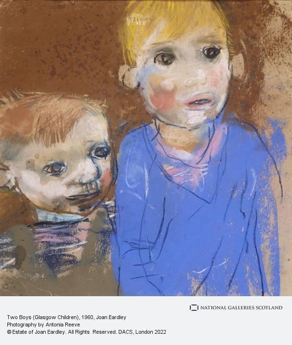 Joan Eardley, Two Boys (Glasgow Children)
