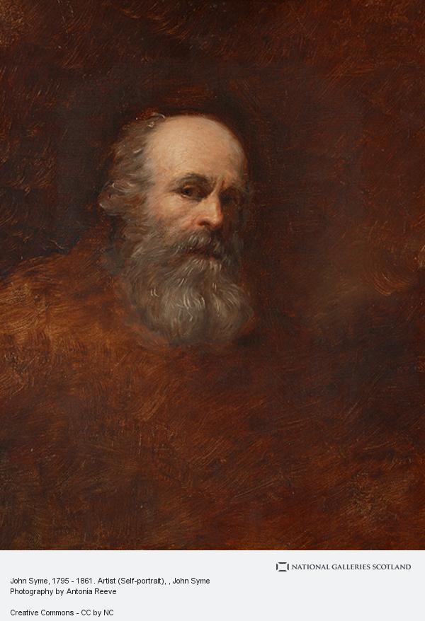 John Syme, John Syme, 1795 - 1861. Artist (Self-portrait)