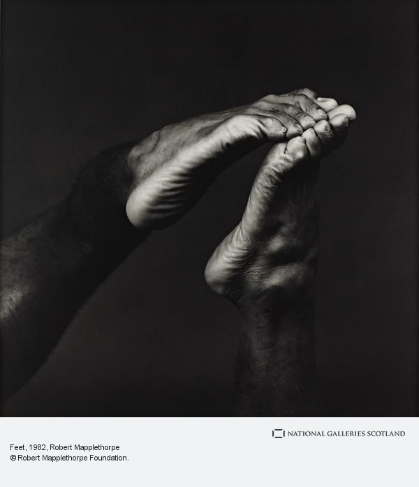 Robert Mapplethorpe, Feet (1982)