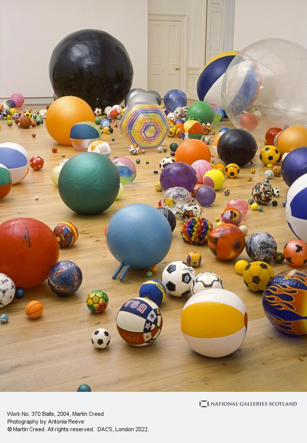 Martin Creed, Work No. 370 Balls