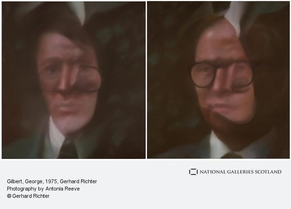Gerhard Richter, Gilbert, George (381-1, 381-2) (1975)