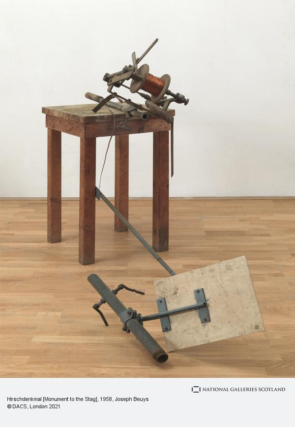 Joseph Beuys, Hirschdenkmal [Monument to the Stag] (1958-1985)