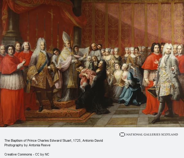 Antonio David, The Baptism of Prince Charles Edward Stuart (1725)