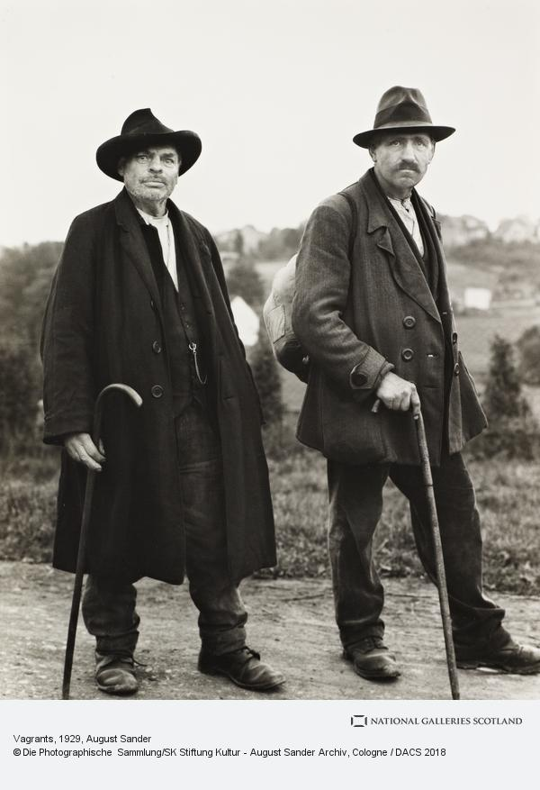 August Sander, Vagrants, 1929 (1929)